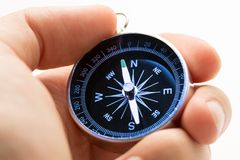 Black compass Royalty Free Stock Photo