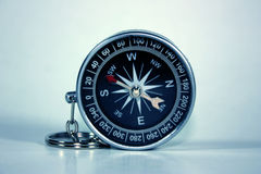 Black compass isolated Royalty Free Stock Image