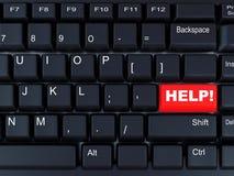 Black computer keyboard Stock Photography