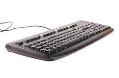 Black computer keyboard Stock Photos