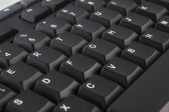 Black Computer Keyboard Royalty Free Stock Photography