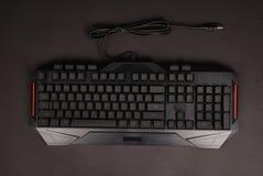 Black computer keyboard Royalty Free Stock Image