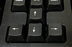 Black Computer Keyboard Royalty Free Stock Photos