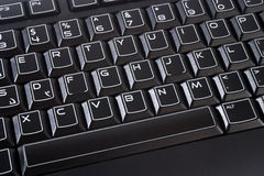 Black Computer Keyboard Royalty Free Stock Images