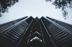 Black Concrete Building during Daytime Royalty Free Stock Photography