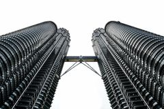 Black Concrete Building on Low Angle Photography Stock Photography