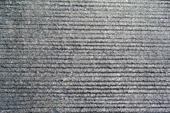Black concrete road texture in the top view. Black concrete road texture or wallpaper in the top view Stock Image