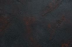 Black concrete texture. Rusted- abstract background royalty free stock images
