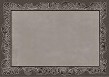 Black Conice for painting or postcard Vintage frame border retro. Conice for painting or postcard linework Black Conice for painting or postcard Vintage frame Royalty Free Stock Image