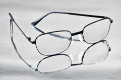 Black Contemporary Reading Glasses Stock Photography