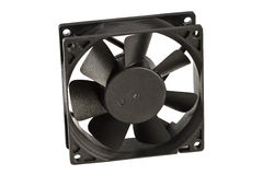 Black cooling fan Stock Photography