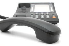 Black Corded Telephone Royalty Free Stock Images