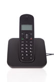 Black cordless phone Royalty Free Stock Photography