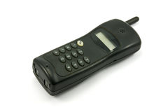 Black cordless  phone Stock Photos
