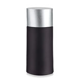 black cosmetic container Royalty Free Stock Photos