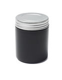 Black Cosmetic Container Stock Photo