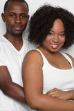 Black Couple Stock Photography