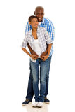 Black couple portrait Stock Photography