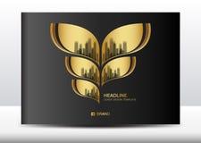 Black cover design template, Billboard, Brochure flyer for cosmetics, Banner design. Template vector illustration, display, advertisement layout, poster, card stock illustration