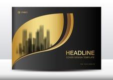 Black cover design template, Billboard, Brochure flyer for cosmetics, Banner design. Template vector illustration, display, advertisement layout, poster, card vector illustration