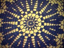 Black crochet Stock Photography