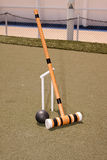 Black Croquet Mallet Stock Photos