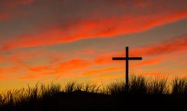The Black Cross Stock Image