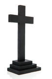 Black cross Royalty Free Stock Image