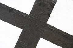 Black cross Stock Photo