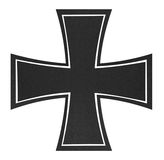 Black cross Stock Photo