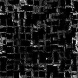 Black crystal seamless texture Royalty Free Stock Image