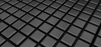 Black cubes Royalty Free Stock Image