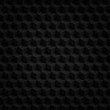Black cubes 3D render. Geometric pattern background Stock Photography