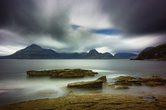 The Black Cuillins from Elgol on Skye Royalty Free Stock Images