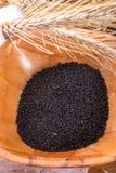 Black cumin (Nigella sativa) Stock Images