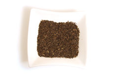 Black Cumin Seeds In Square White Bowl Stock Photography