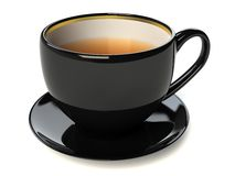 Black cup Royalty Free Stock Images