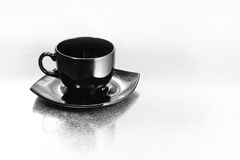 Black cup Royalty Free Stock Photos