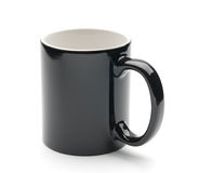 Black cup Stock Photo