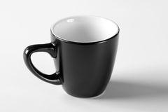 Black cup Stock Photography