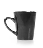 Black cup isolated Royalty Free Stock Photos