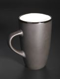 Black cup Royalty Free Stock Photography