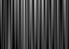 Black curtain Stock Photos