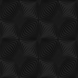 Black 3d striped reticulated Royalty Free Stock Photos