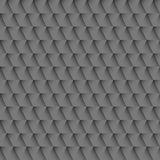 Black 3d triangles pattern Stock Image