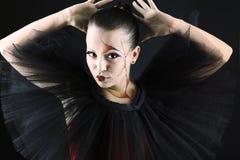 Black dance Stock Images
