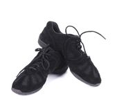 Black dance sneakers. Stock Photography