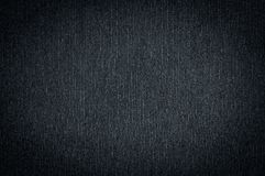 Black dark fabric texture Stock Image