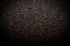 Black dark leather Stock Photography