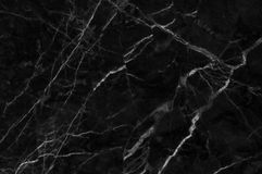 Black and dark marble texture shot through with white deep veining. Pattern for backdrop or background, And can also be used create marble effect to Royalty Free Stock Photography